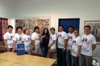 Группа стипендиатов Президентской программы «Болашак»