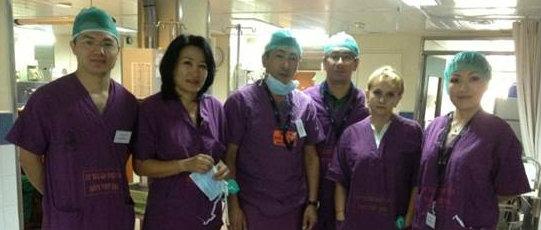 Стажировка гинекологов в «Шиба»
